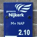 peilschaal modern Gemeente Nijkerk
