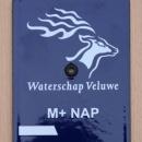 peilschaal modern Waterschap Veluwe